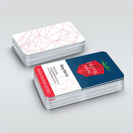 Digital Meal business cards