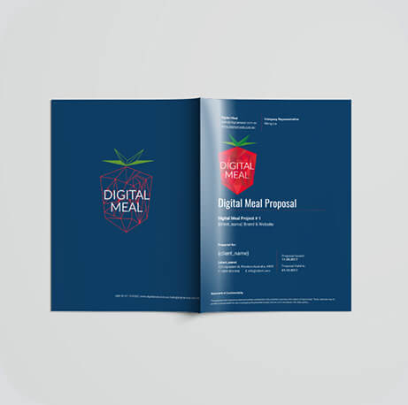 Digital Meal proposal document