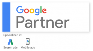 Google Partner badge for adwords management