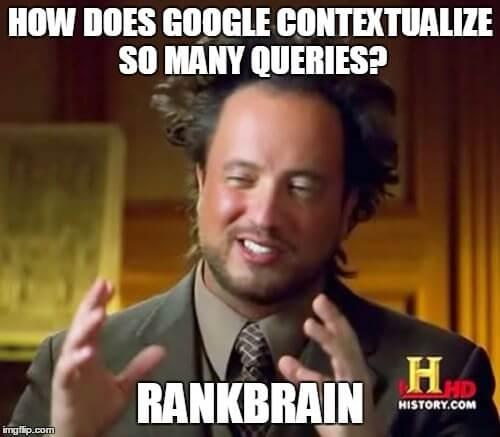 Google RankBrain Meme