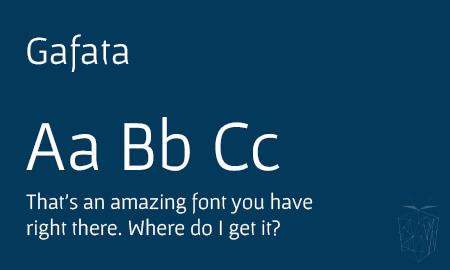 Gafata Google Web Font