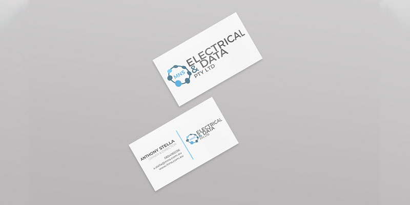 MNS Electrical Business Card