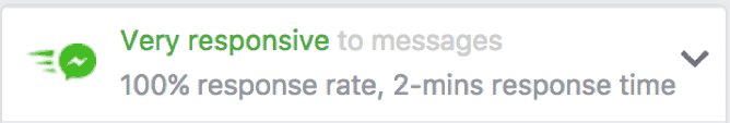 Very Responsive to Messages