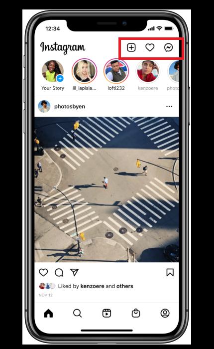 Instagram Icon Movement